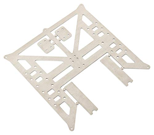 Turmberg3D - Heizbetthalter Anet A8, A6, Heatbedholder, Y-Carriage - 3D-Drucker (Aluminium - roh, entgratet)