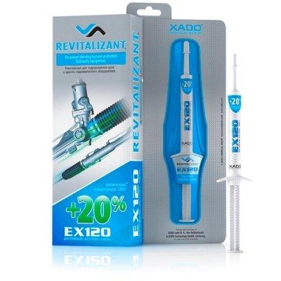 XADO Servo Öl-Additiv EX120 mit Revitalizant für Servolenkungen und Hydraulikanlagen Öl-Zusatz zu Reparatur und Verschleiß-Schutz