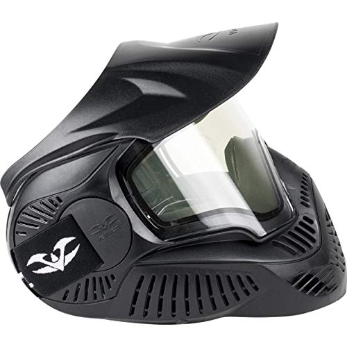 Valken Mi-3 Field Pantalla Thermal máscara de Paintball Unisex, Negro