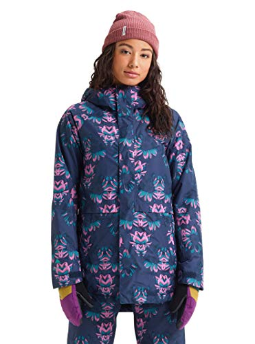 Burton Womens Gore-Tex Kaylo Jacket, Dress Blue Stylus, Large