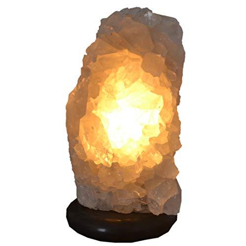 Bergkristalllampe   Edelstein-Lampe   Kristall-Lampe   Mineralien Natur-Stein Leuchte   Bergkristall-Spitzen Gruppen Lampe   Heilstein Lampe für Wohn- und Arbeits-Räume