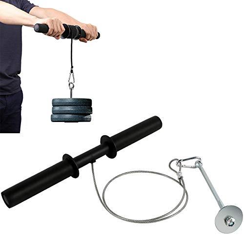 CCTYCC Unterarm Handgelenk Roller Blaster, High-Density Grip Cover Anti-Rutsch Nicht leicht zu brechen, stark und robust, für kann Hantel Kettlebell Langhantel gehängt Werden