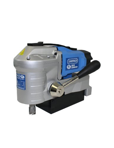 Why Should You Buy Champion Cutting Tool RotoBrute RB30 LittleBrute Low Profile, Lightweight, Portable Magnetic Drill Press: Up to 1-3/8″ Diameter, 1-3/16″ Depth of Cut