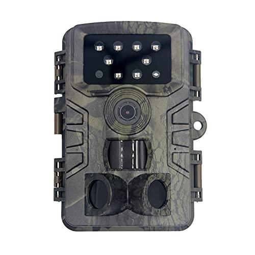 fuguzhu Cámara de caza de 12 MP 1080p cámara de vigilancia juego Wildlife Scoadfinder Trail Animales Cámara Digital Detección de Movimiento Impermeable con Visión Nocturna