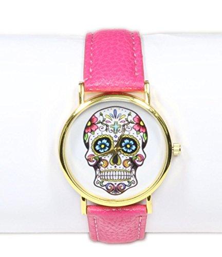 Reloj Rosa Fucsia/Crane Mexicano