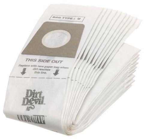 Dirt Devil Original Royal Typ D Staubsaugerbeutel (20 Stück), 3670148001