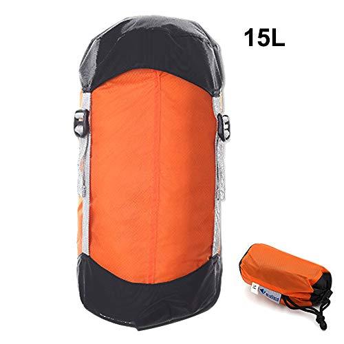 Générique Sac de Couchage de Compression Ultra léger avec Cordon de Serrage pour randonnée, Camping, Nemo (Couleur : Violet)