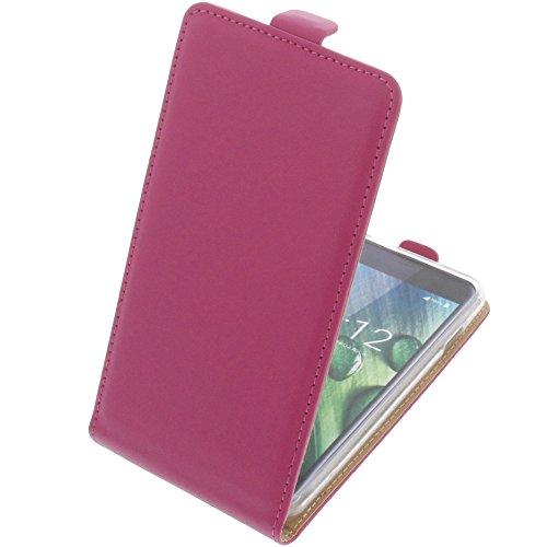 foto-kontor Tasche für Acer Liquid Z6 Smartphone Flipstyle Schutz Hülle pink