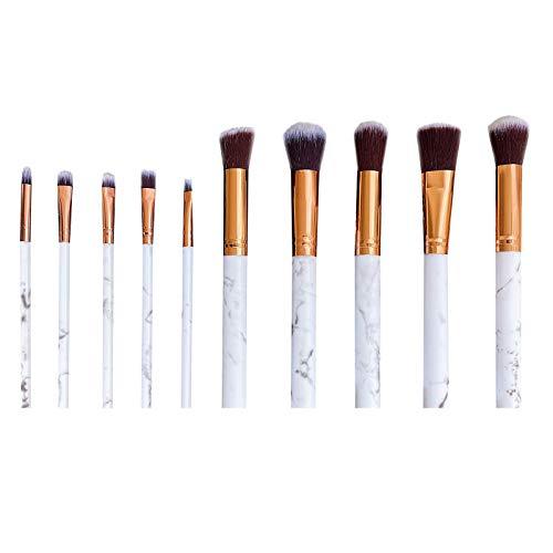 Make-up-Pinsel-Set Komplettes Set/Kosmetik Mix Pinsel für Foundation Powder Eyeshadow/Professionelles Kosmetikpinsel Schminkpinsel Set/Hochwertige synthetische Weichborsten für Anfänger