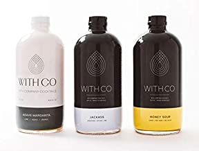 Withco Tequila Cocktail Mixer Bundle: Margarita, Mule and Honey Sour Makes 30 Drinks Just Add Tequila