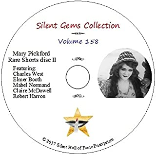 DVD Mary Pickford Rare Shorts disc II (1912-1913), classic silent films