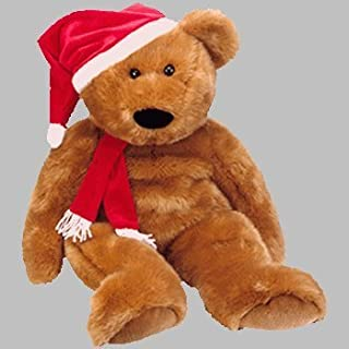 Ty Beanie Buddy Large 1997 Holiday Teddy by Ty