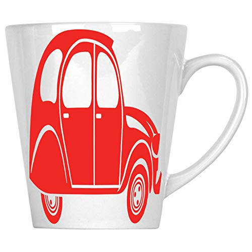 Citroen 2Cv 340 ml Latte taza j516L