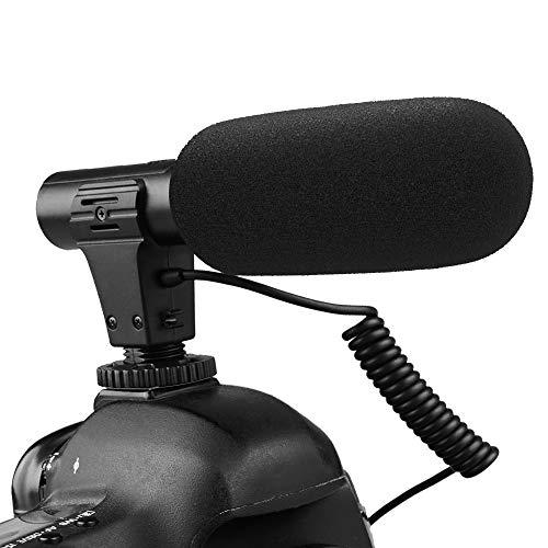 SAMTIAN Video Microphone Interview Camera Microphone Recording Microphone for Canon Nikon Sony Panasonic Fuji