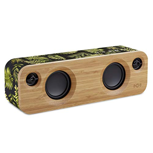 House of Marley Get Together Mini Sistema Audio Bluetooth Wireless Portatile, Porta USB per Caricare Altri Dispositivi, Fino a 8h...