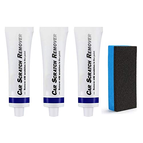 3pcs Car Scratch Repair Agent, Car Scuff Innovative Remover Set, Suitable for Any Color Polish Restorer Wax, Easily Repair Paint Scratches, Swirl, Marks, Water Spots, Blemish