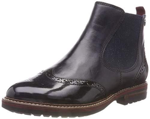 Tamaris Damen 25437-21 Chelsea Boots, Blau (Navy 805), 39 EU