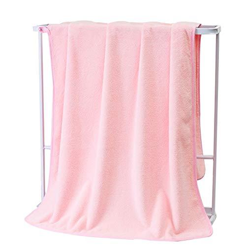 Toalla de baño Toallas de baño de coral, grandes 27,4 'x 55.1 '' pulgadas ultra suave y toallas de baño altamente absorbentes para baño, hotel, spa, cuerpo, cabello, cara, gimnasio, piscina, lavamanos