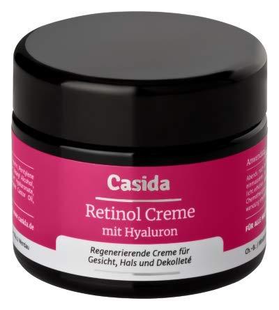 Retinol Creme mit Hyaluron - Intensiv pflegende Anti-Falten Creme mit Retinol 50 ml - aus der Apotheke