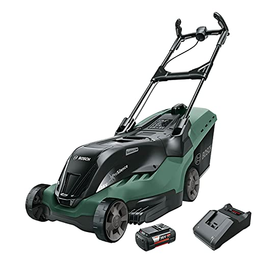 Bosch Cordless Lawnmower AdvancedRotak 36-650 (36 Volt, 1x Battery 2.0...