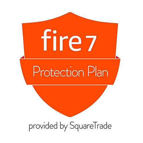 Price comparison product image 2-Year Accident Protection Plan for Fire 7 Tablet (2019 release,  delivered via e-mail)