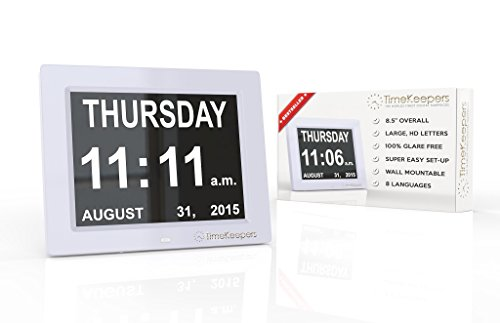 Extra Large Memory Loss Digital Calendar Day Clock