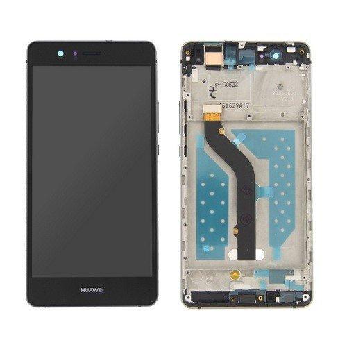 Electronic Evolution LCD Schermo Display per Huawei P9 Lite VNS-L31 VNS-L23 con Vetro Touchscreen e Frame Ricambio Assemblato Colore Nero
