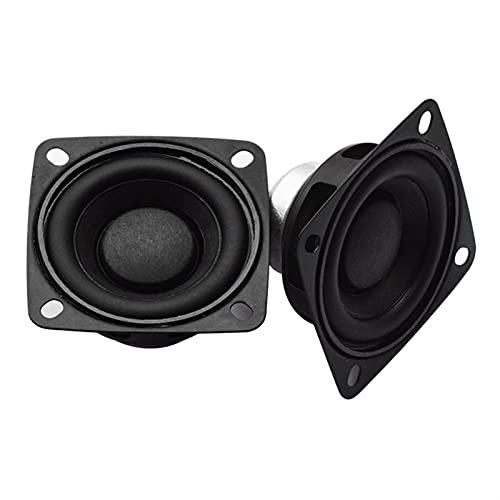 Wnuanjun 2 STÜCKE Full Range 2 inch Lautsprecher 15W DIY Soundbar Boombox Unit Tragbare Radio 10W 20 Watt 4 Ohm Lautsprecher HiFi Bluetooth Lautsprecher 55mm (Größe : 8 ohm 20W)