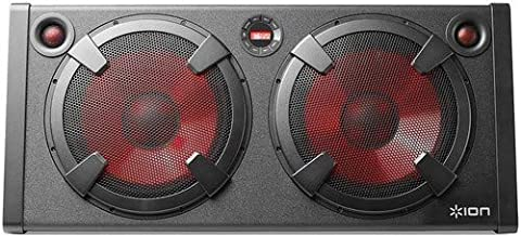 ION Audio Road Warrior | 500-Watt Portable Bluetooth Stereo Speaker System with Twin..
