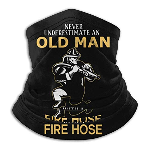 Nunca Subestimes A Un Anciano con Una Manguera contra Incendios Sin Costura...