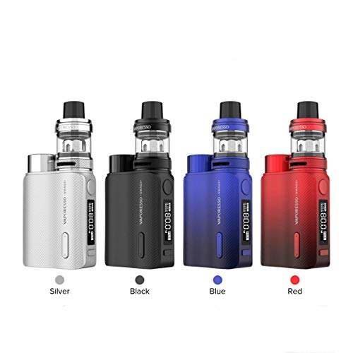 Vaporesso Swag II 2 Starter Kit 80W Powered by Single 18650 Battery 3.5ml (Black)