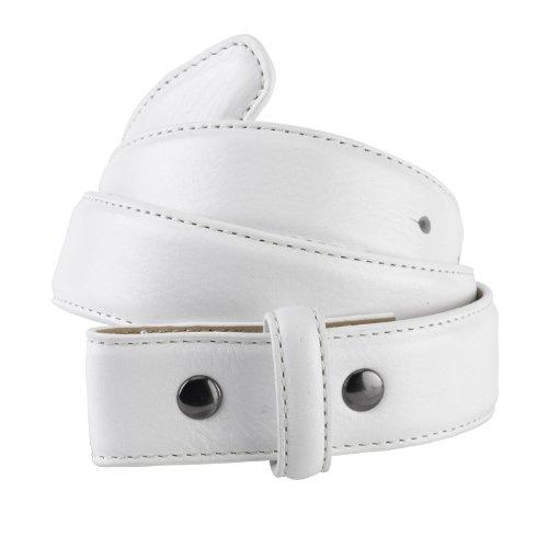 IJP Design, Cintura in Pelle da Golf Donna-Challenger, Bianco (Golfballweiß), 8