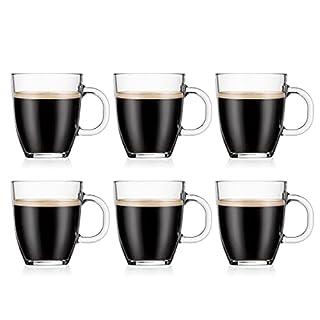 Bodum Coffee Mug, Bistro Single Wall, 6pcs, 350ml, 11239-10-2 (B00OHV8KUU) | Amazon price tracker / tracking, Amazon price history charts, Amazon price watches, Amazon price drop alerts