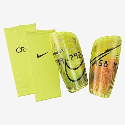 Nike CR7 Unisex Acc. Fußball Schienbeinschoner, gelb, XS
