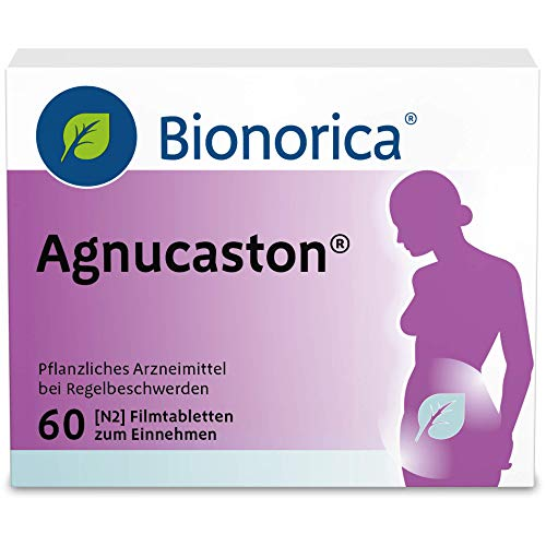 Agnucaston Tabletten bei Regelbeschwerden, 60 St. Tabletten
