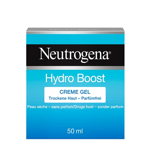 Neutrogena Hydro Boost Creme Gel, Feuchtigkeitscreme Gel mit Hyaluron Gel Komplex für 24H intensive Feuchtigkeit (1 x 50 ml)