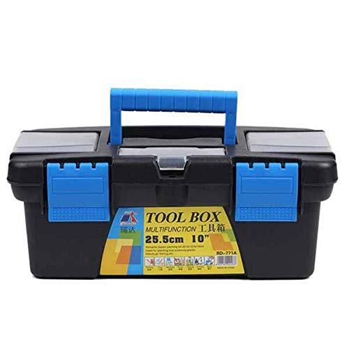 Caja de herramientas portátil engrosamiento Caja de herramientas de recepción Caja de herramientas de dibujo Caja de dibujo Caja de herramientas para herramientas y piezas pequeñas