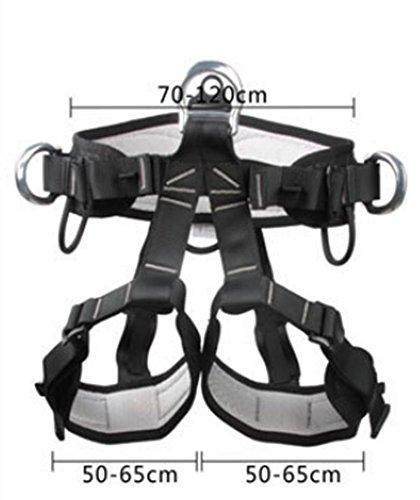 GAOHAILONG Buste Tour de taille Hip ceintures/haute altitude d'escalade et sauvetage/extérieur ceintures