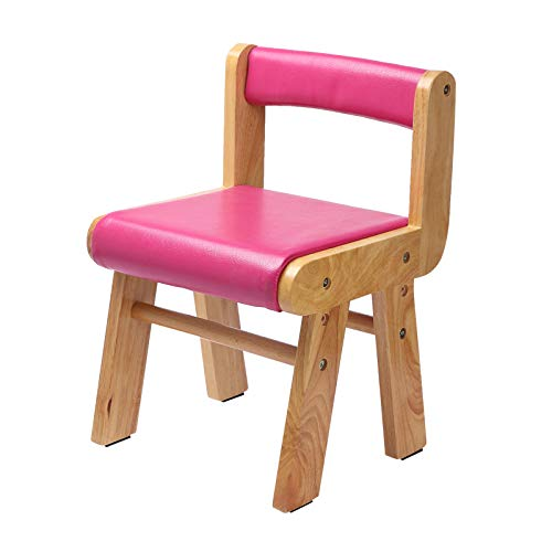 YYZZD Children's Solid Wood Backrest Chair Learning Chair Suitable for Kindergarten and Home, Long Sitting and Not Tired