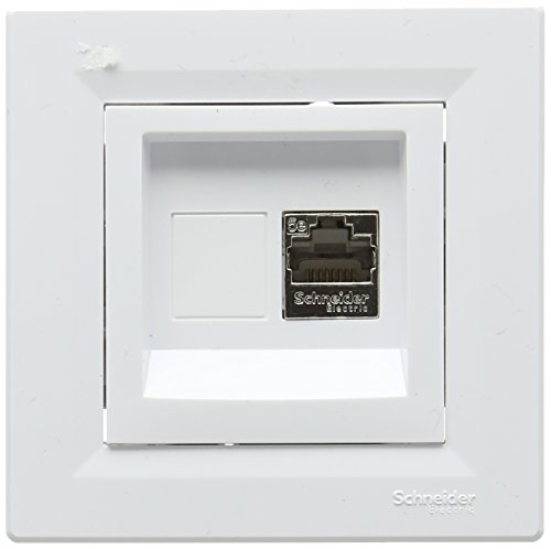 Schneider electric SC5EPH5003121 - Asfora rj45, komplettset ras