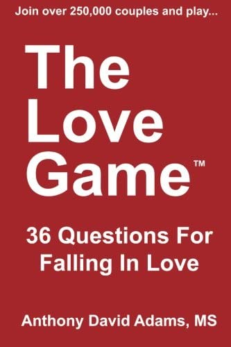 The Love Game 36 Questions For Falling in Love product image