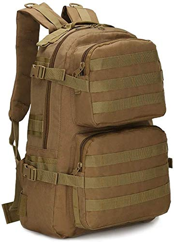 tgbnh Zaino, Zaino Militare Tactical Training Field Survival Backpack Impermeabile e Resistente all'Usura 15L-20L Uomini e Donna Zaini (Color : Yellow)