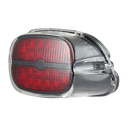 Sharplace Lampe Queue de Frein Moto Lumière Frein Motocyclette Rechange Pièce
