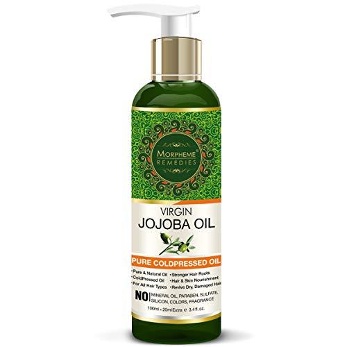 Morpheme Remedies Cold Pressed Virgin Jojoba Oil, 120ml