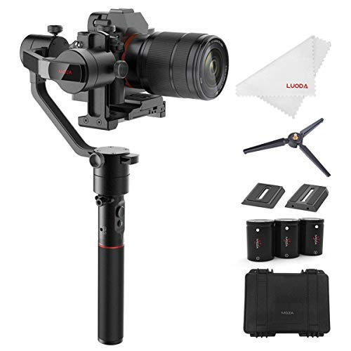 MOZA カメラスタビライザー AirCross ミラーレスカメラ 3軸手持ちジンバル 1800gの搭載重量 自動チューニン...