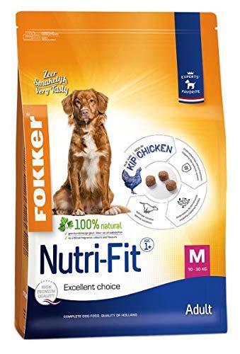 13 KG Fokker nutri-fit adult medium hondenvoer