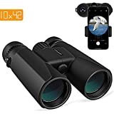APEMAN 10X42 HD Binoculars for Adults with Low Light Vision,Compact Binoculars for Bird Watching,Hunting,Sports Events,Travelling,Adventure and Concerts,FMC Lens with Smart Phone Adapter