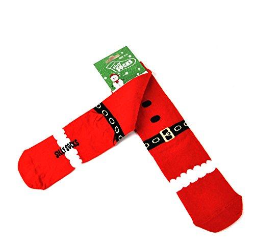 Santa Socks - Christmas Silly Socks