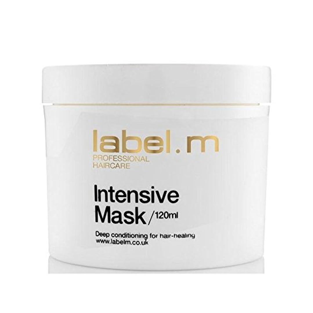 裁量慢性的嘆願Label.M Intensive Mask (120ml) (Pack of 6) - .インテンシブマスク(120ミリリットル) x6 [並行輸入品]