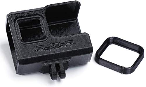 iFlight 3D Printed Adjustable Camera Mounting Seat 0~40° TPU for Gopro Hero 5/6/7 Used for Nazgul5 V2 Drone ProTek35Cinewhoop Drone (Black)